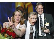 Bild på vinnarna av Guldkon
