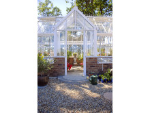 Tidlös design är bara en av fördelarna med Hartleys växthus