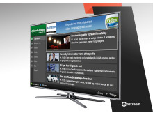Jyllands-Posten Samsung Smart TV app