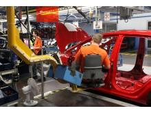 """Fords """"Happy Seat"""" förbättrar arbetsmiljön i företagets europeiska fabriker - bild 2"""