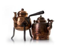 kaffekannor i koppar, 1800-tal