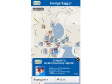 I din Smartphone: Byggprojektinformation utifrån din position, Layar App