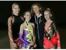 Tre Örnsköldsviksgymnaster tävlar i VM i Rytmisk Gymnastik 2009