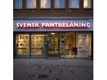 Diodskylt Svensk pantbelåning