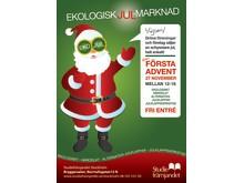 Ekologisk julmarknad i Brygghuset