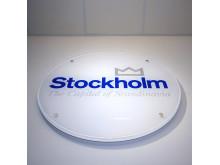 Akrylskylt Stockholms stadsbyggnadskontor