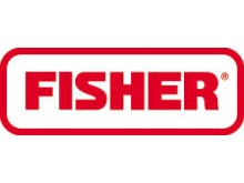 Fisher Controls logo för Fisher reglerventiler och regulatorer