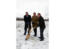 Picture: The world's first Plantagon Greenhouse for Urban Agriculture breaks ground in Sweden