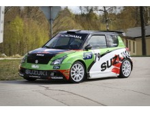 Suzuki Swift Sport rallybil