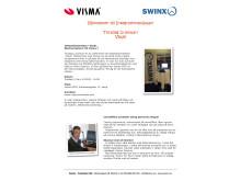 Mässinbjudan, skanna fakturor från Swinx till Visma..!
