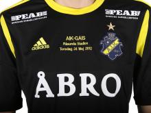 """Kaplans Memorabilia - Sport, nr 8, MATCHTRÖJA, A.I.K. fotboll, säsongen 2012, """"hemma"""""""