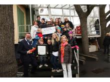Vinnare av Årets Friendsprestation 2011 kategori åk F-6: Västerhejde skola, Visby