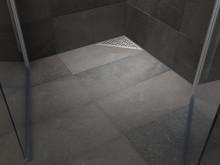 Purus Corner, golvbrunn placerad i hörn