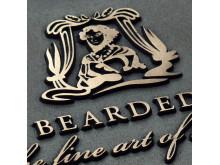 Gjutna skyltar Bearded lady