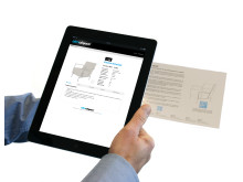 BIMobject portal - iPad QR-kod scan