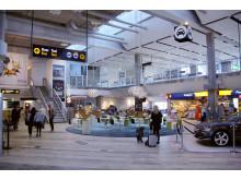 Ny inredning i inrikes, Göteborg Landvetter Airport