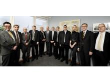 Israelisk delegation till Schneider Electric och Locum