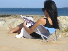 Y-ply sammenleggbar solstol - smart på stranden.