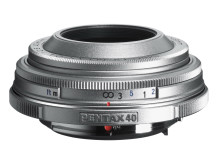 Pentax DA40mm Limited Silver edition