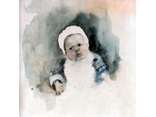 Akvarell av Bruno Liljefors