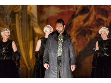Press photo: Christophe Dumaux (Farnace). Mitridate, Drottningholms Slottsteater 2014
