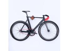 D-Rack mit Kebony - Fahrrad