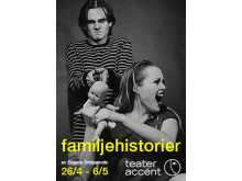 Familjehistorier premiär 26 april med Teater Accént