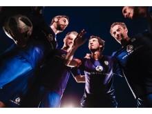 Teambesprechung: Jonas/OK KID, Dokter Renz/FETTES BROT, Micha Fritz, Sasha, Kostja Ullmann