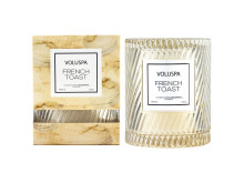 French Toast - Boxed Icon Candle w. Cloche cover