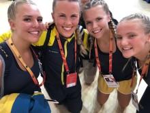 Kämpinge GF lag 2 direkt efter overall-silvret på VM i Shanghai 2018
