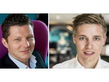 Jevgenij Zhenja Werner, Sverigechef och Robin Eriksson, Nordenchef momondo
