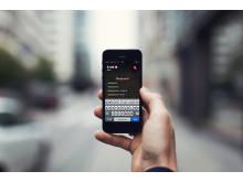 Danskerne vinduesshopper med mobilen