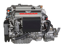 Hi-res image - YANMAR - YANMAR 4LV Series of common rail engines (left side)