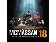 MC MÄSSAN DEN 25-28 JANUARI PÅ SVENSKA MÄSSAN I GÖTEBORG