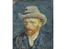 Vincent van Gogh, Selfportrait with grey Felt hat 1887