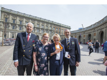 Louise Etzner Jakobsson hyllades vid Stockholm Slott