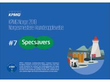 Specsavers gjør det godt i KPMGs kundeopplevelse-kåring