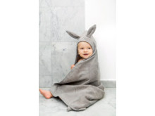 Hooded Towel - Marble Grey - 3733 x 5600 px