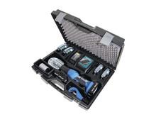 ZoomLock verktygsväska komplett med batteri, laddare och klämbackar