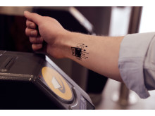 INK-REDIBLE: Virgin Trains launches world's first ticket tattoo