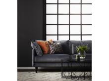 Plain 3-sits soffa miljöbild