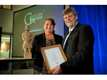 Lena Olving - vinnare av Gabrielsen Award