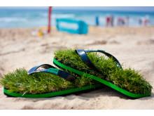 Gress-sandaler