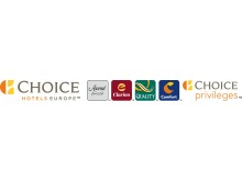 New Choice Hotels Europe Logo. Extreme Horizontal