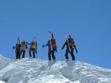 Skitour auf die Dufourspitze