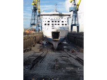 Ferry Enthusiasts Group from NI Visit Stena Line Dry Dock