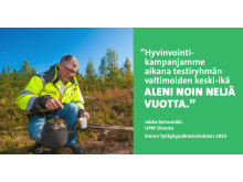 UPM Silvesta - Eteran Työkykypalkintoehdokas 2015
