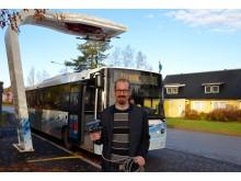 Forskar om elbussar