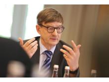 Otmar D. Wiestler. Pressegespräch am 5. Juni 2014 im DKFZ in Heidelberg