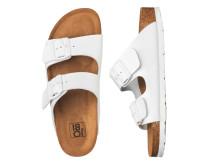 Storsäljande sandalmodell i helvitt